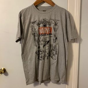 Marvel Shirts - Marvel/Funko villains T-Shirt, 3XL